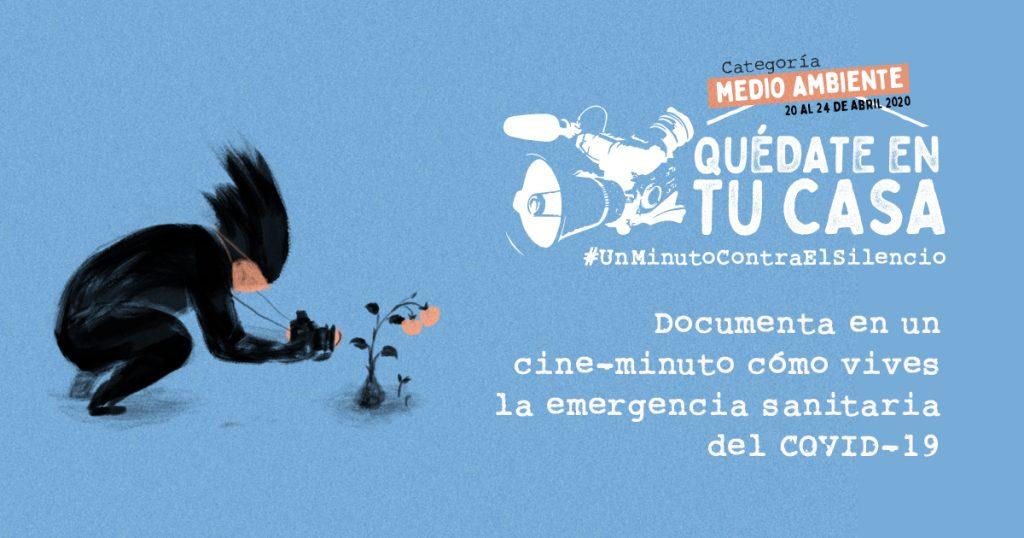Banner Concurso Cineminutos Medio Ambiente