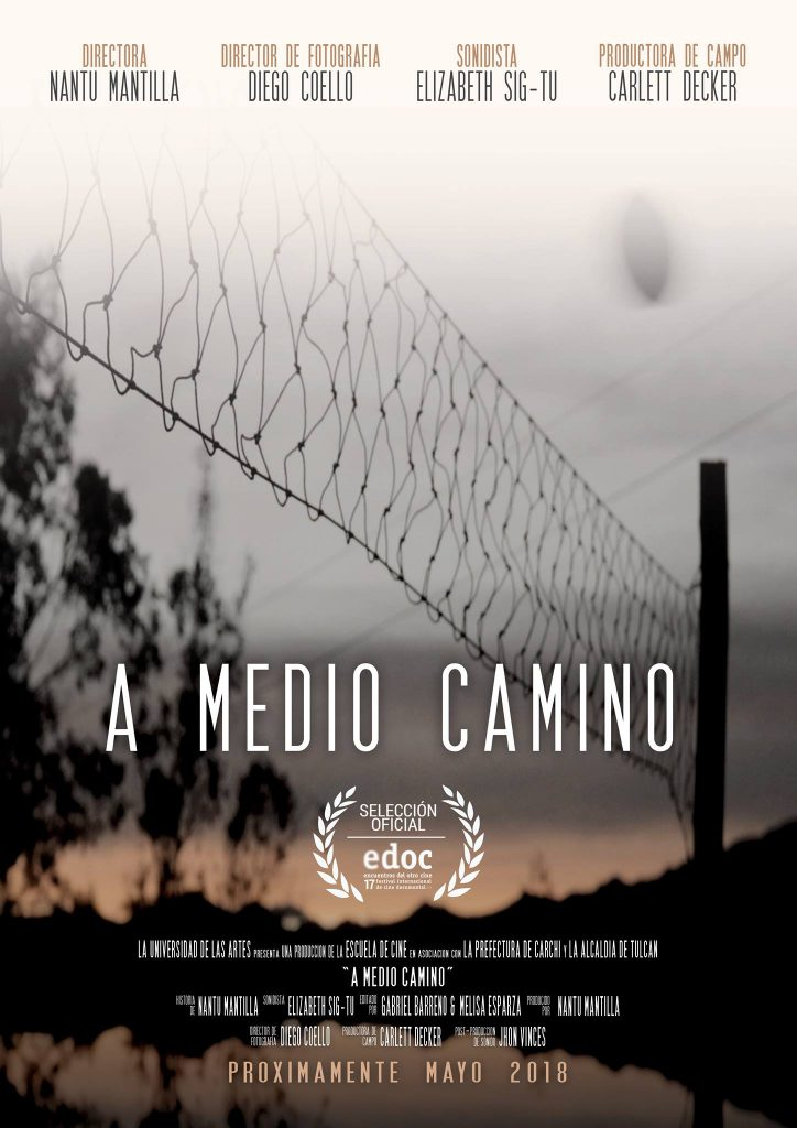 "Cartel documental ""A medio Camino"""