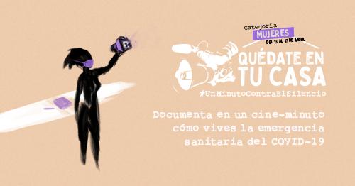 Banner 3er Concurso de Cineminutos Categoría Mujeres