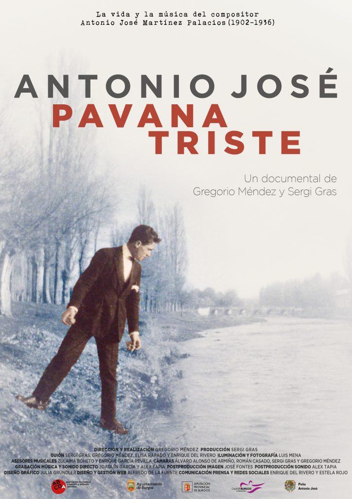 Cartel Antonio José. Pavana triste 2018