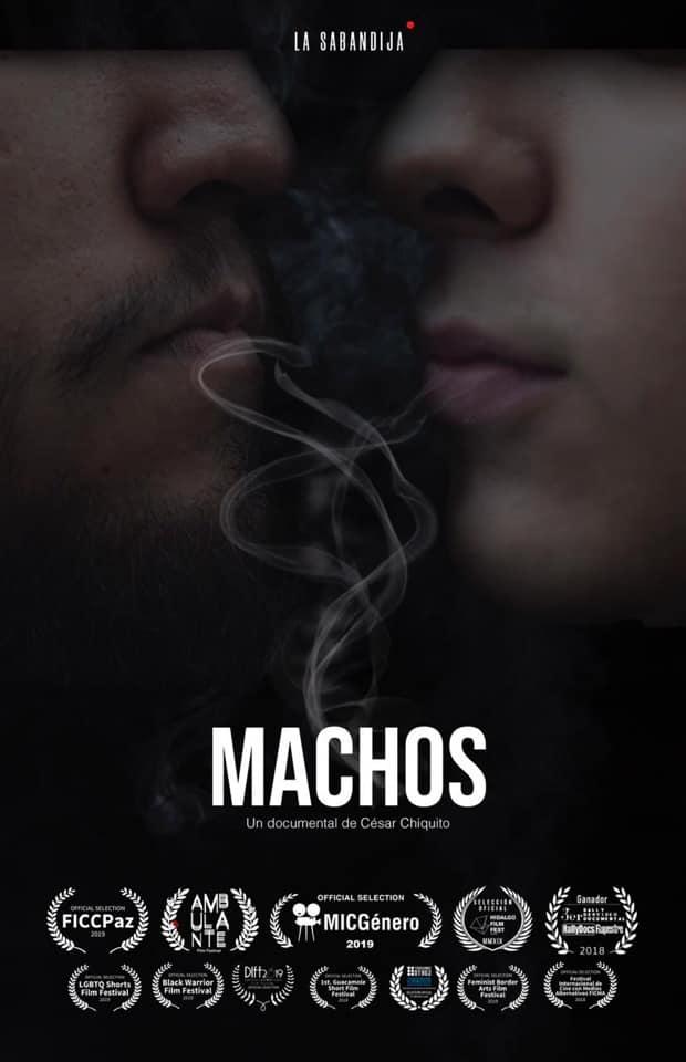 """Cartel """"Machos"""" 2"""