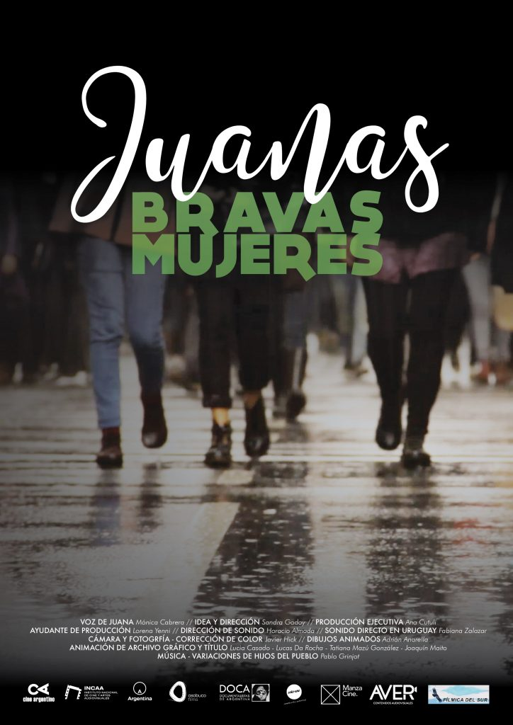 Cartel documental Juanas