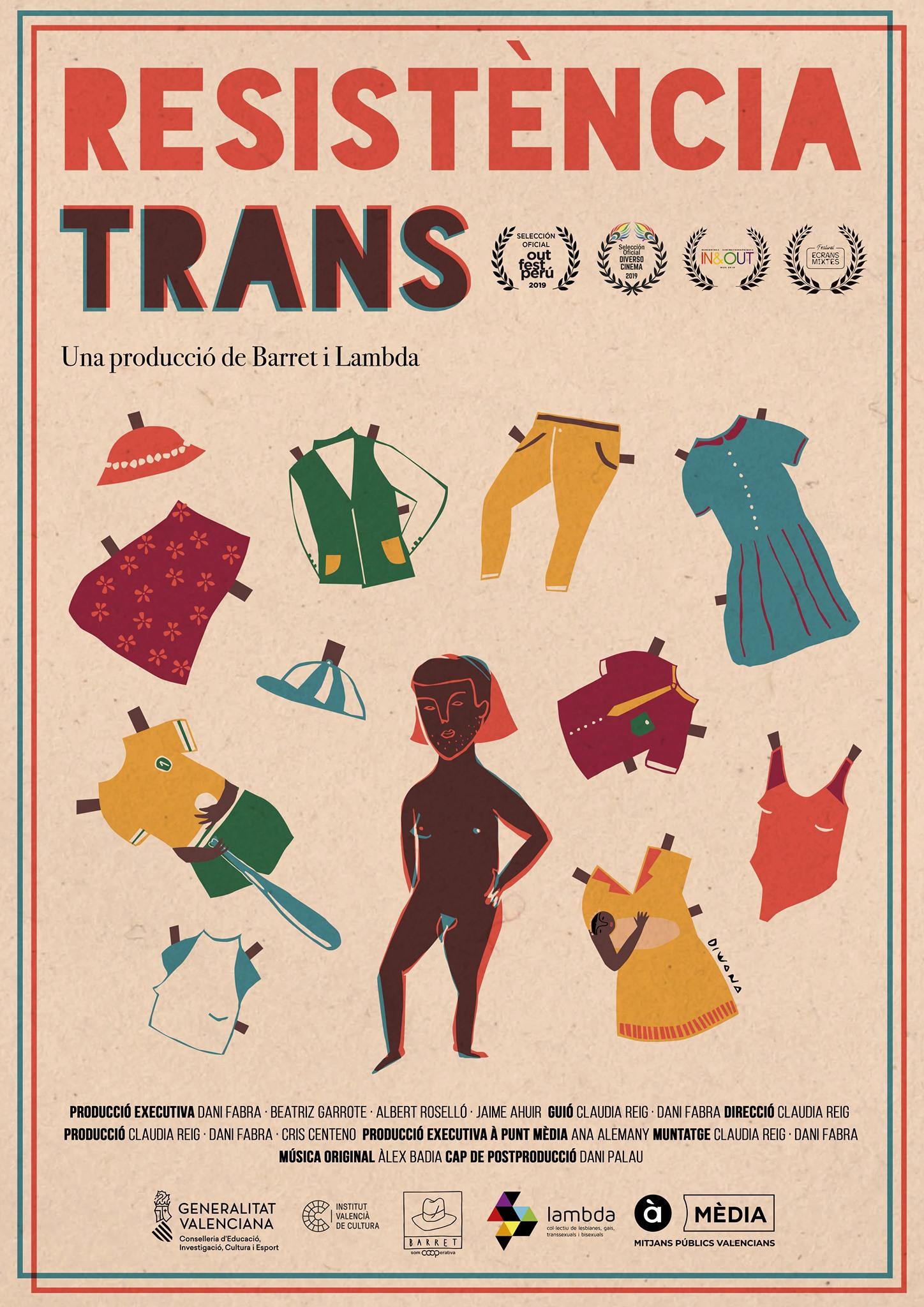 Cartel Resistencia Trans