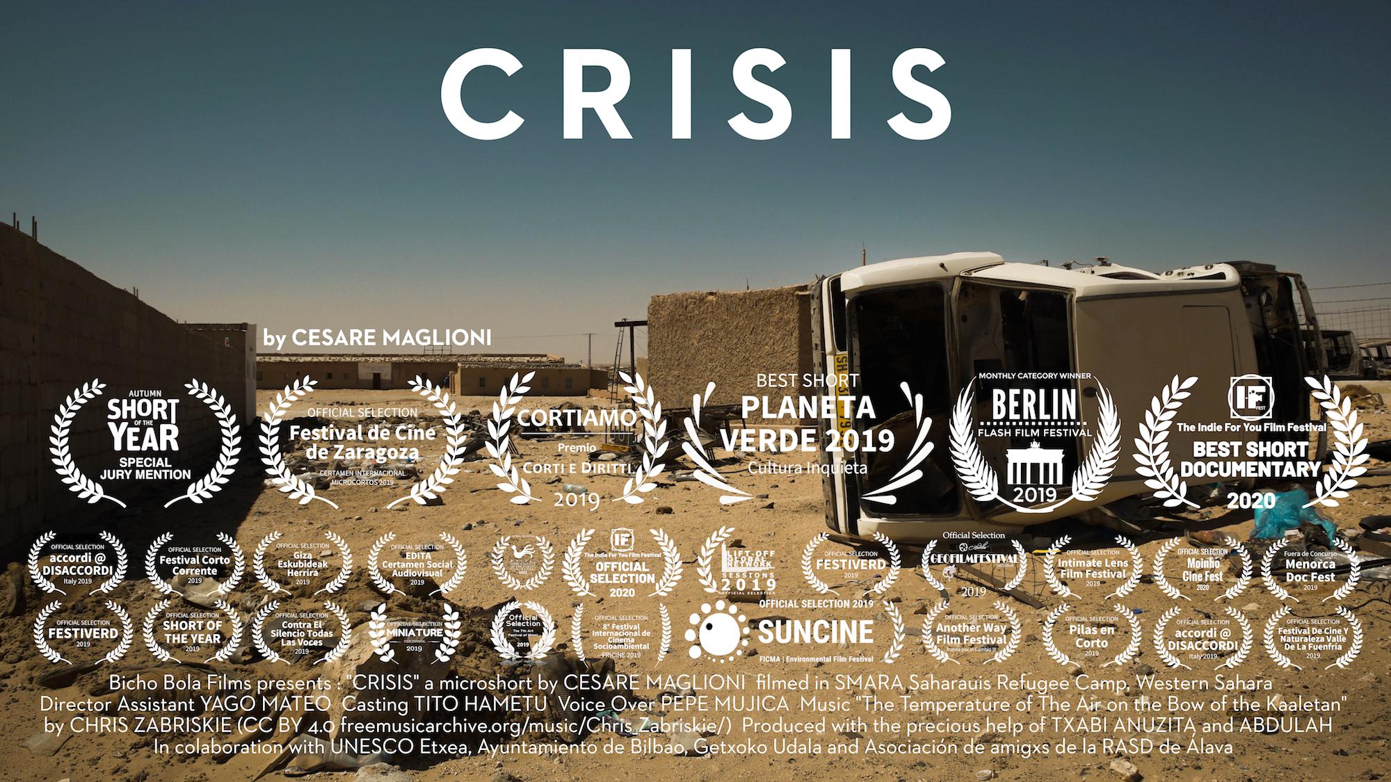 Poster documental Crisis