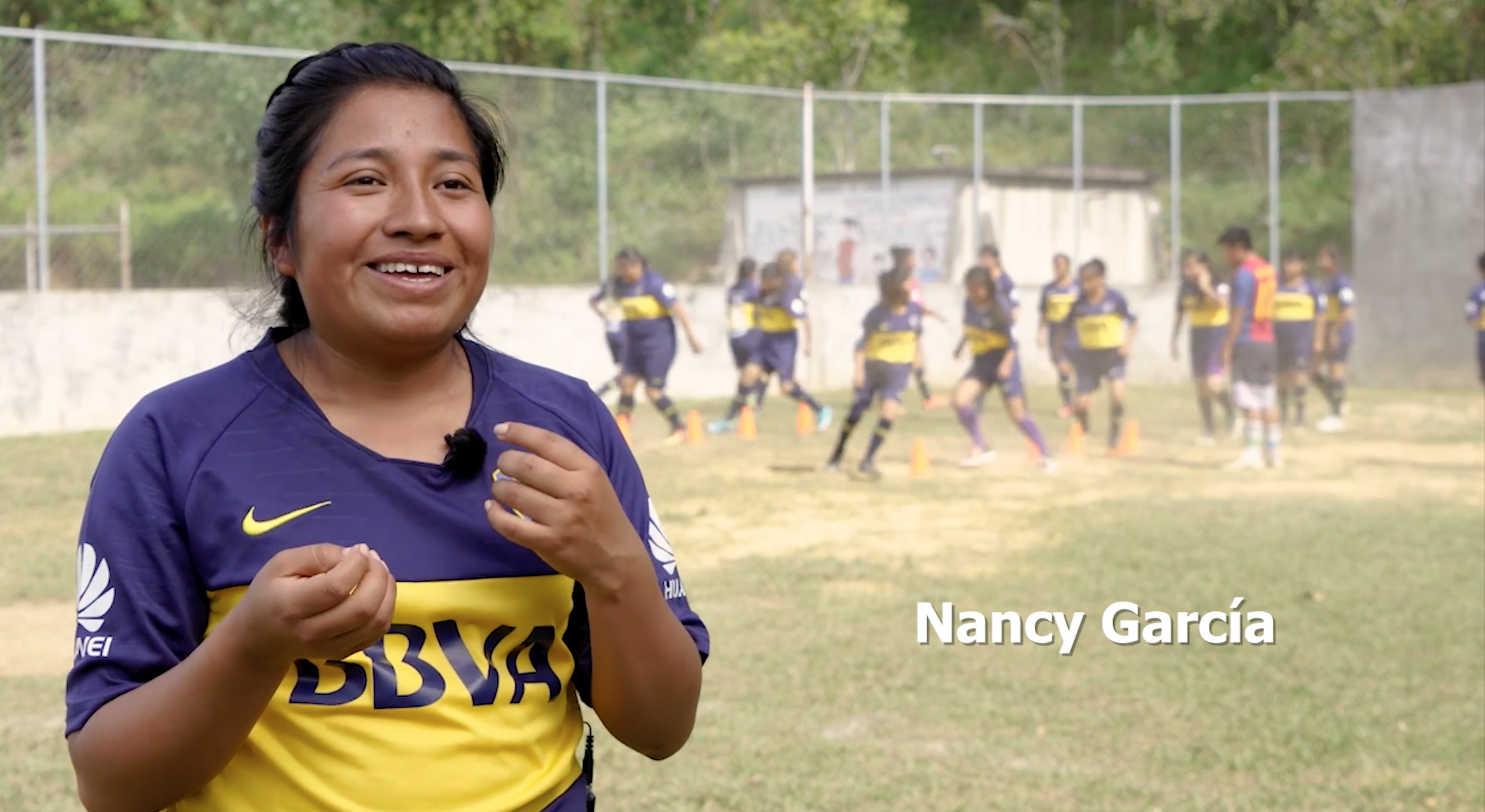 Nancy García, documental Valientes